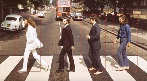Comparativa con cuadros idénticos. Siempre tomando como referencia a George.