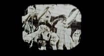 El público gritando en el Shea Stadium.