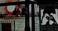 La imagen se amplía para mostrar a Paul, en una de las imágenes de la sesión de fotos de A hard day's night, alterada para colocarle las manos como si fueran unos prismáticos. Esta imagen se repetirá a lo largo de todo el video, como una constante. Un Paul que vigila todo desde su posición.