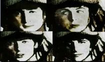 Y las caras de los cuatro Beatles en ella. De nuevo un símbolo a la libertad.