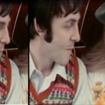 Pero no tanto como esto, qué espanto. Yo creo que se le acercó George por detrás y le pegó la llama del mechero sin que se diera cuenta. Poneos la película Magical Mystery Tour para comprobar cómo se ve tal cual, es impresionante.