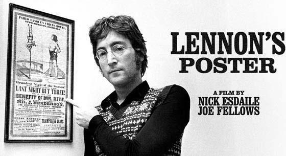 3. John con el afiche