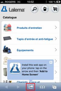 Lalema Site mobile | Ajouter un signet