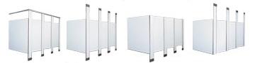 Type de partitions de toilettes Bobrick