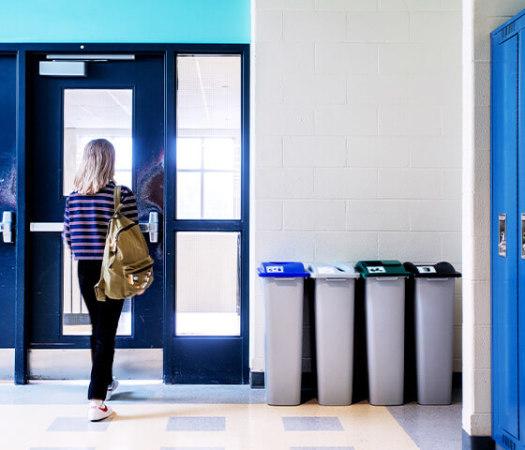 Station de collecte Waste Watcher (Quatuor)