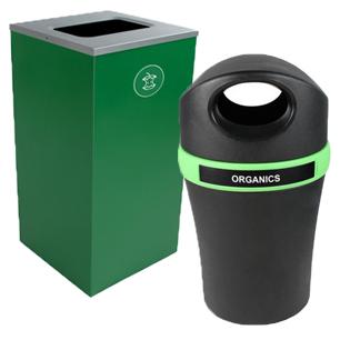 Le compostage facilité grâce à nos poubelles pour matières organiques