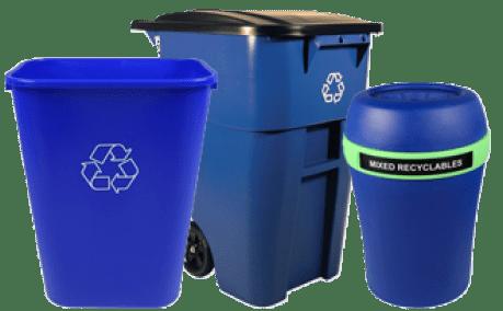 Nous offrons une grande variété de poubelles de recyclage.