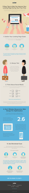 [INFOGRAPHIC] 5 Easy Tips to Help You Improve Your Landing Page