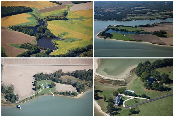 Corbin Hall Farm: 2000+ Acres with Seven Miles of Water Frontage in Virginia