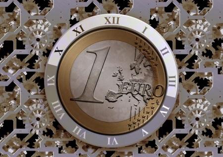euro horloge temps