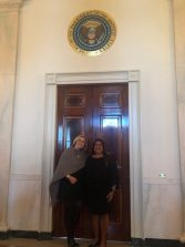NALP CEO Sabeena Hickman and NALP Vice President of Public Affairs Missy Henriksen attend White House event representing landscape industry careers.