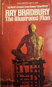 "Couverture de ""The illustrated Man"" par Ray Bradbury"