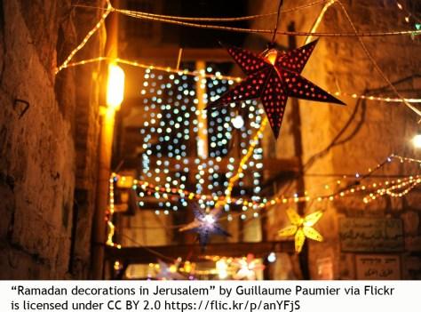 Ramadan decorations multicultural bilingual