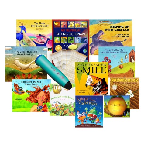 PENpal Audio Recorder Pen Bilingual Book Set