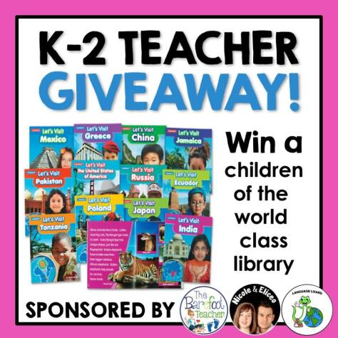 Enter to win a multicultural stories class library
