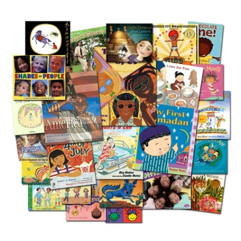 Set of 25 multicultural children's books
