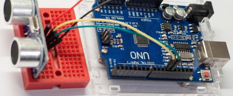 HC-SR04 ultrazvukový sensor