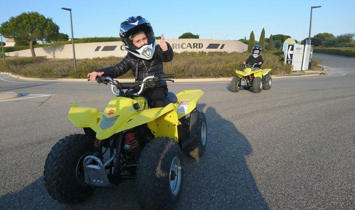 quad, activités, enfants, kids, Normandie, PACA, Ile-de-France, accrobranche, poney, paintball,