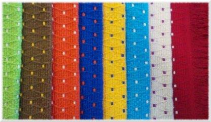 Alfombra de puntos - colores