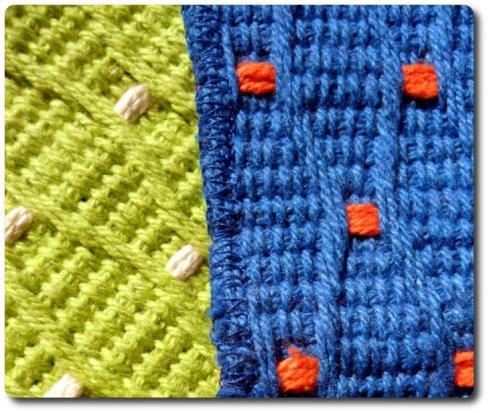 Ampliación alfombra de puntos