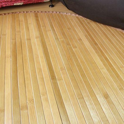 Alfombras de bamb redondas como el mundo blog de - Alfombras de bambu a medida ...