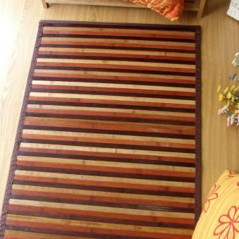 Alfombra de bambú para pasillo color natural