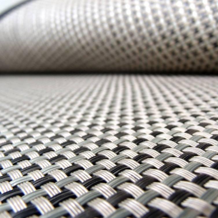 Alfombra de fibra sintética