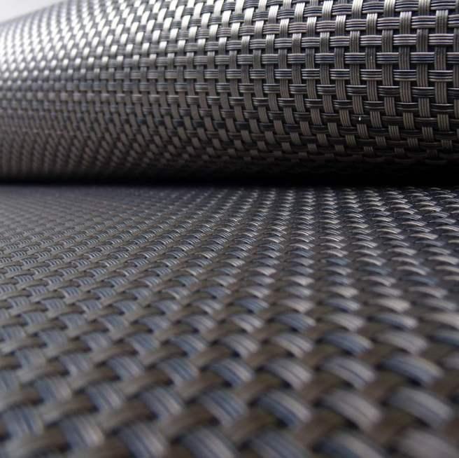 Alfombras de fibra grafito