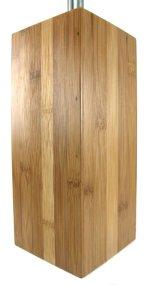 Escobillero de madera