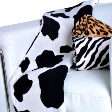 Manta microfibra de vaca