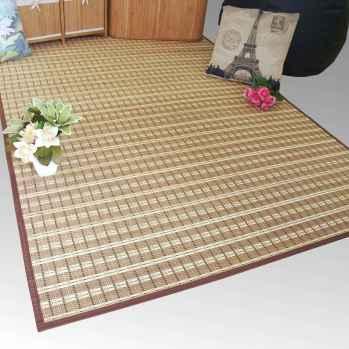 Alfombra de lámina estrecha de bambú