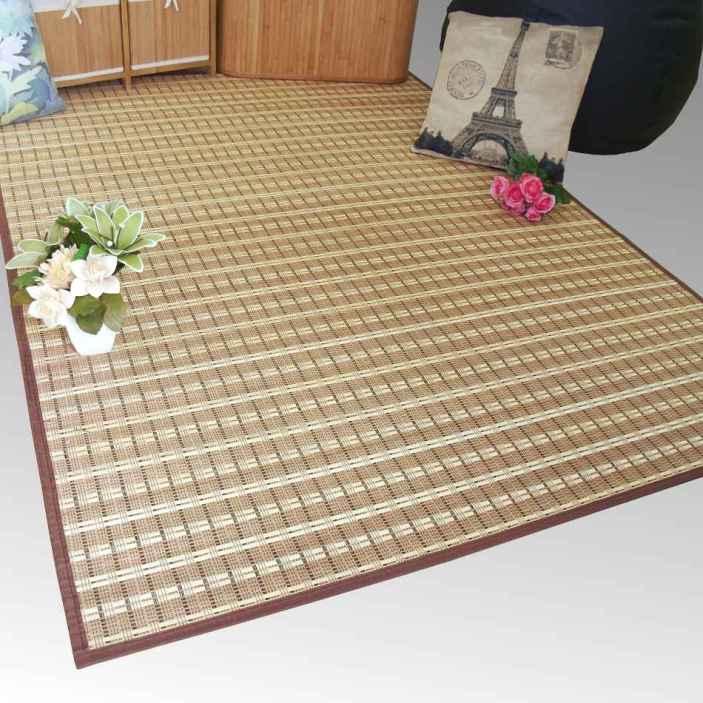 Las nuevas alfombras de bamb e hilo nos vamos a costa - Alfombras de bambu a medida ...