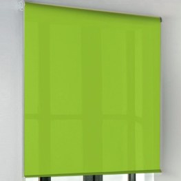 Estores lisos color verde