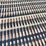 Alfombra de láminas de bambú