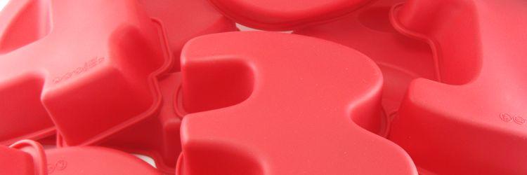 Moldes repostería silicona