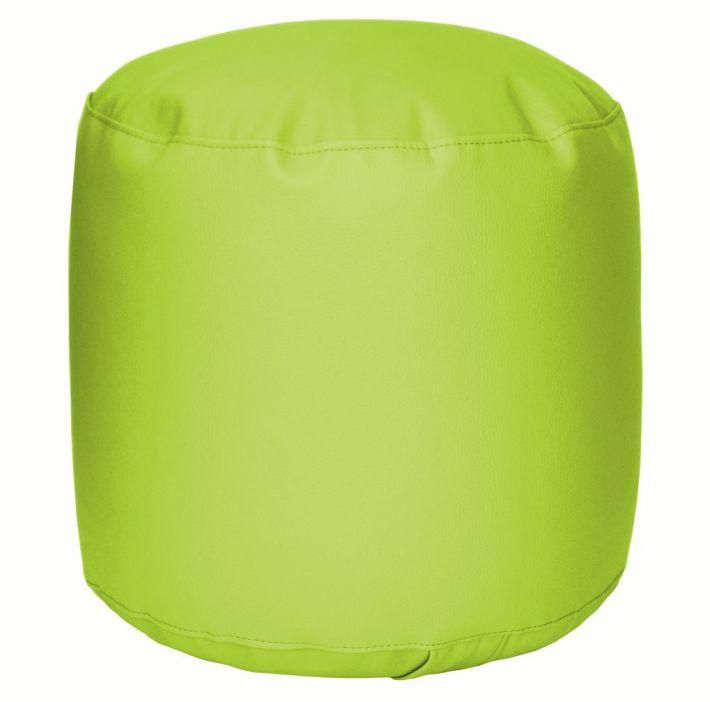 Puff asiento verde
