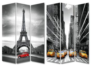 Biombo Nueva York París