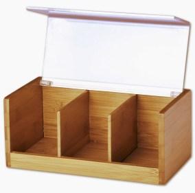 Caja para tés de madera