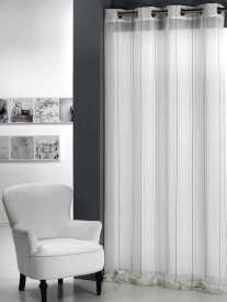 Cortina clarita semitransparente