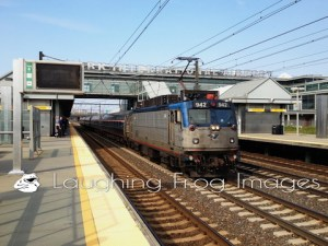 Amtrak on the Northeast Corridor