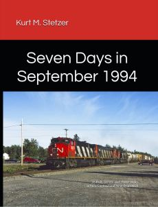 New Book! Seven Days in September 1994