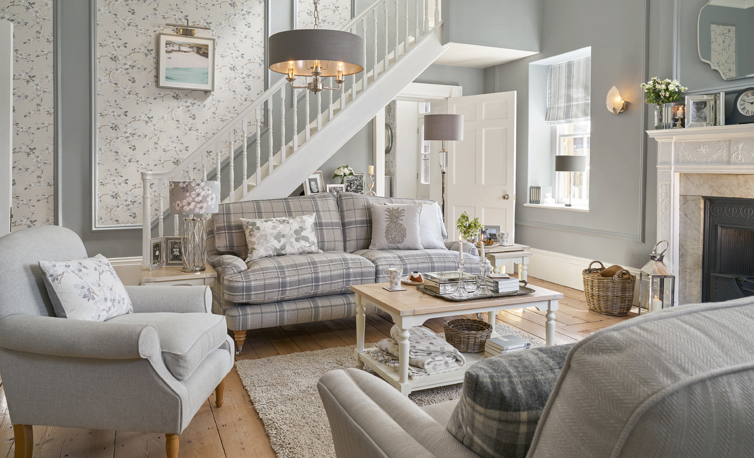 Decorating a small home might seem like a bit of a challenge at first. Laura Ashley Living Room Ideas