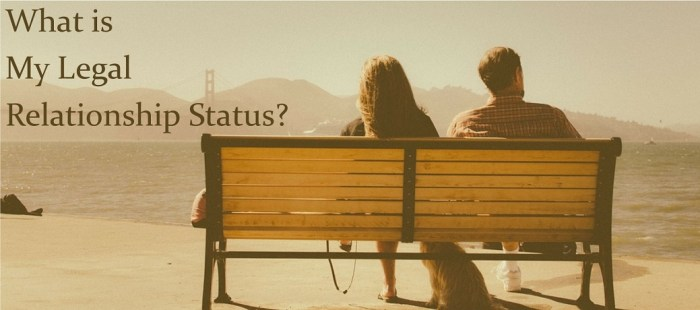 What's My Legal Relationship Status?