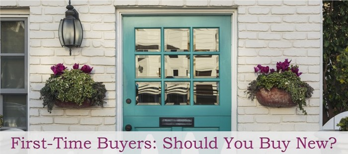 First-Time Buyers: Should You Buy New?