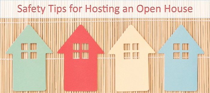 Safety Tips for Hosting an Open House