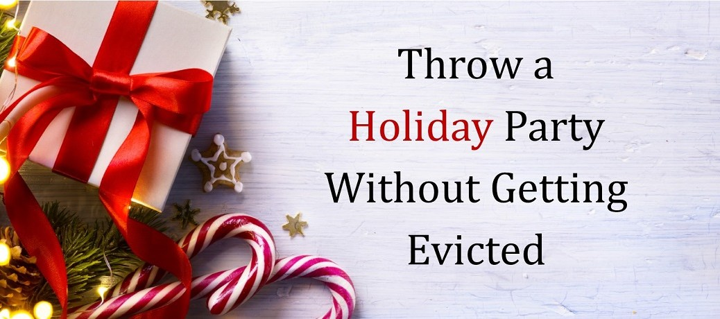 Throw a Holiday Party Without Getting Evicted