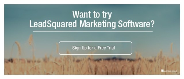 LeadSquared Free Trial Sign Up