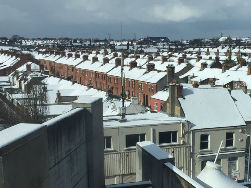 rooftop snow
