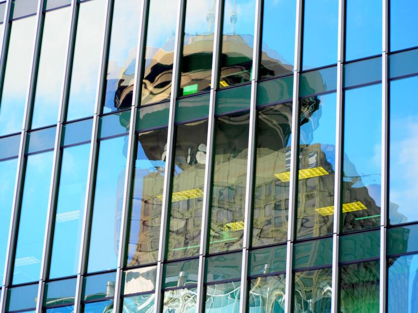 Harbour Centre Reflection