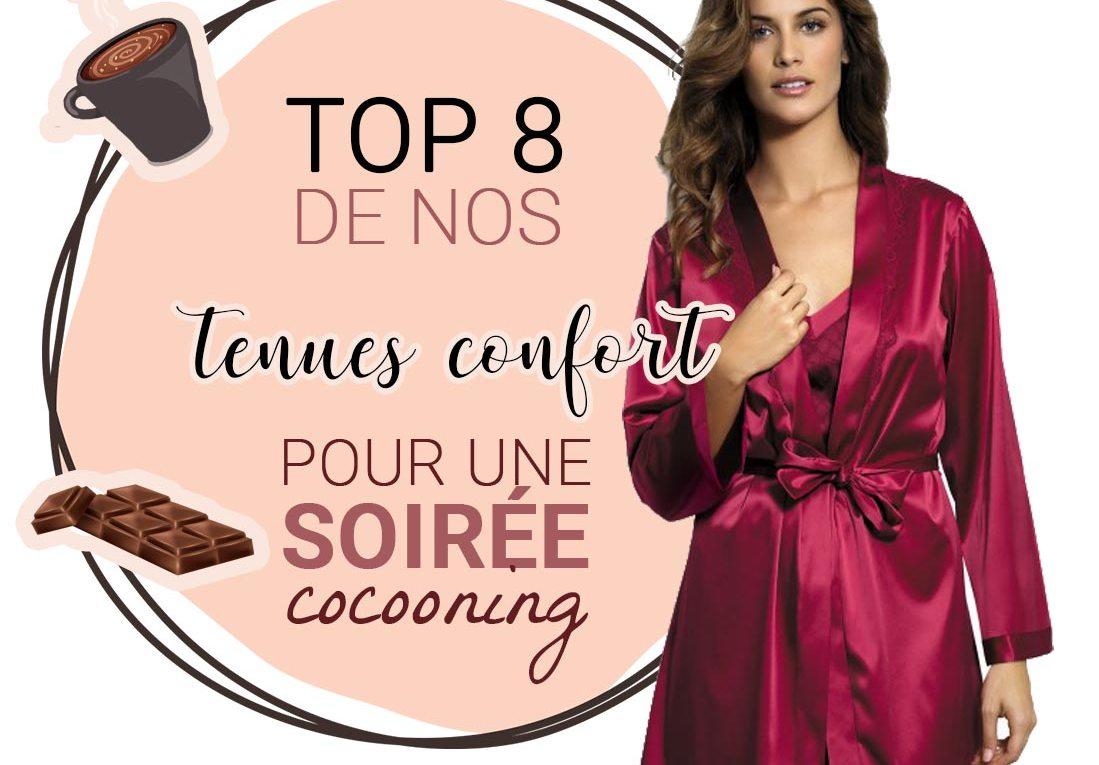 Top 8 de nos tenues pour une soirée cocooning